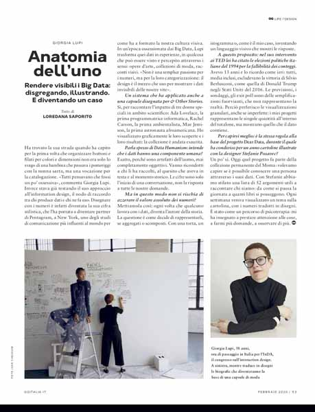 intervista tendenze information design