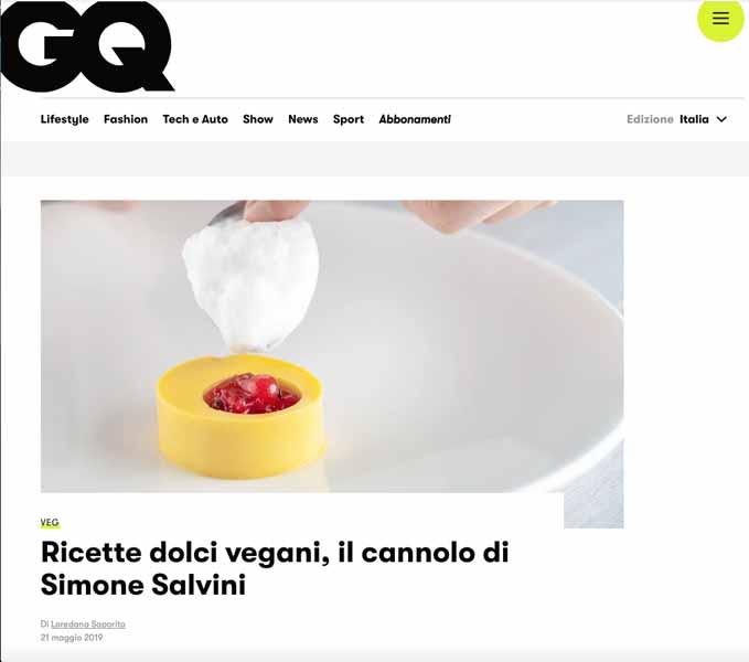 intervista chef vegano